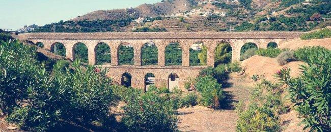 acueducto romano de almuñecar granada