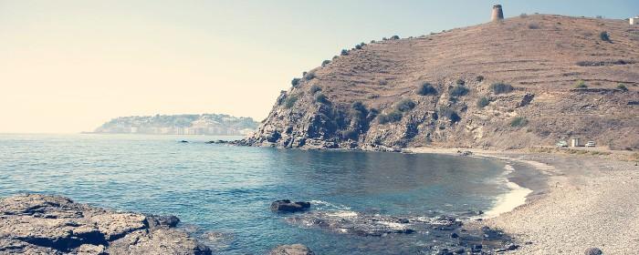 playa barranco de enmedio almuñecar granada