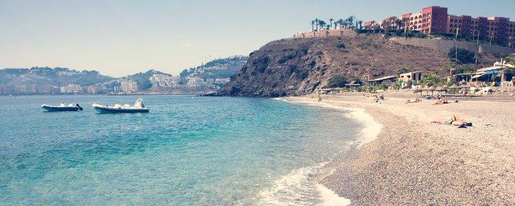 playa de cabria almuñecar granada